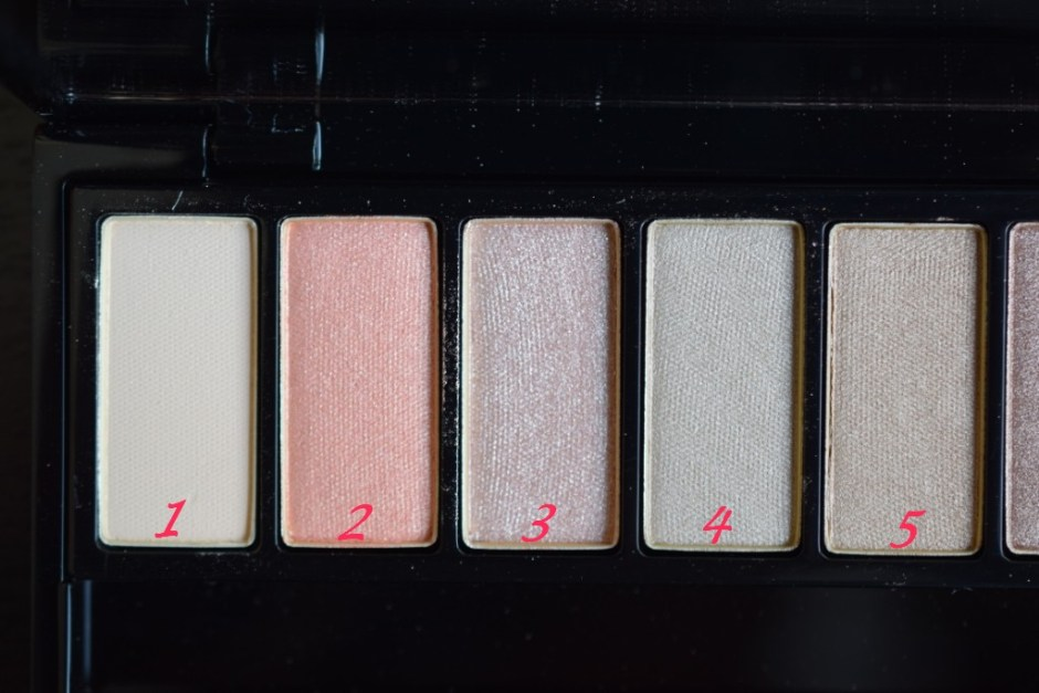 YSL palette Couture variation 8