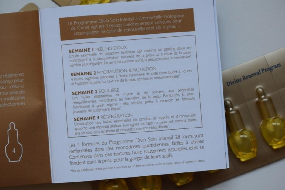 L Occitane programme divin Immortelle 14