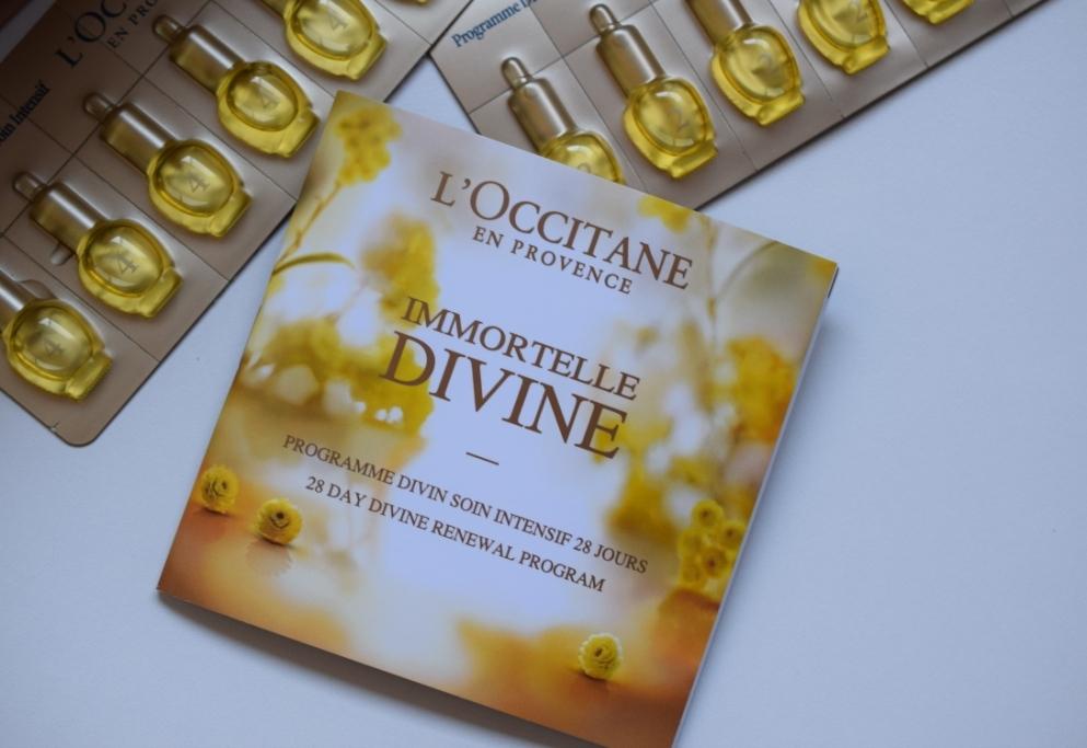 L Occitane programme divin Immortelle 9