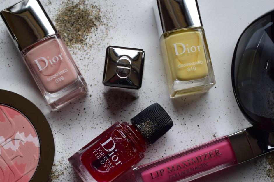 Dior Tie & Dye summer collection 2015 5 vernis