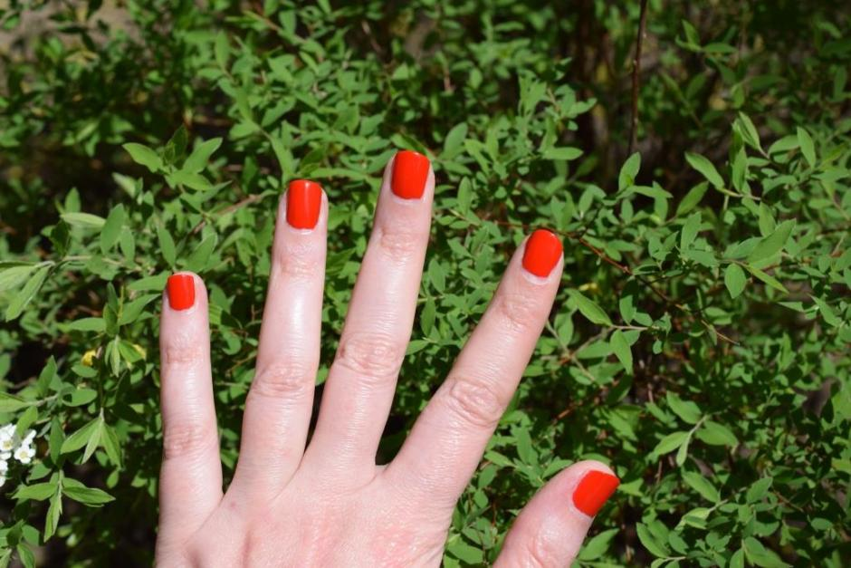 Chanel vernis Coquelicot 6 swatch