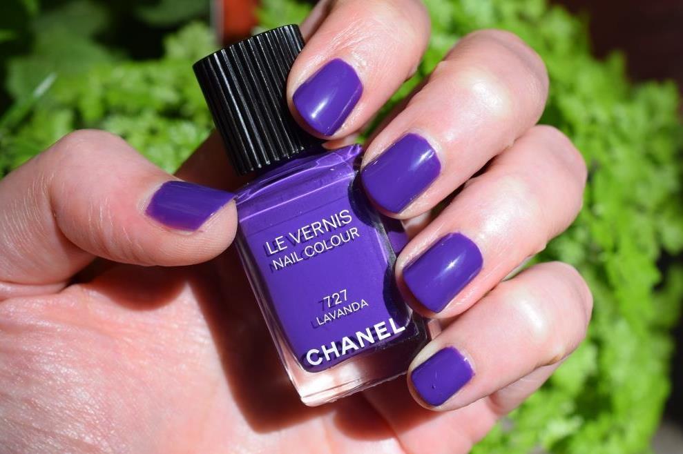 Chanel vernis Lavanda 3