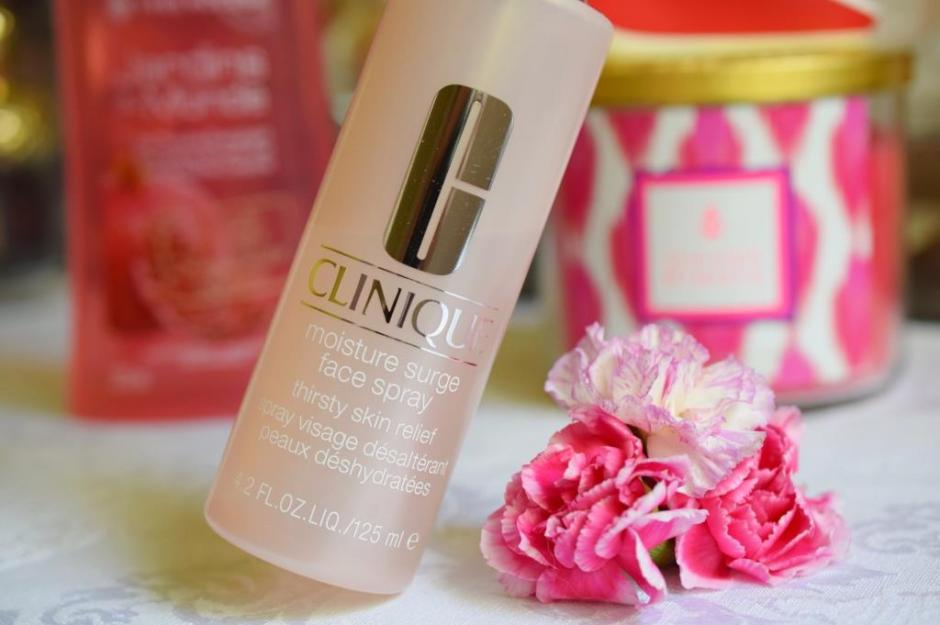 Favoris juillet 2015 2 Clinique Moisture surge Face spray