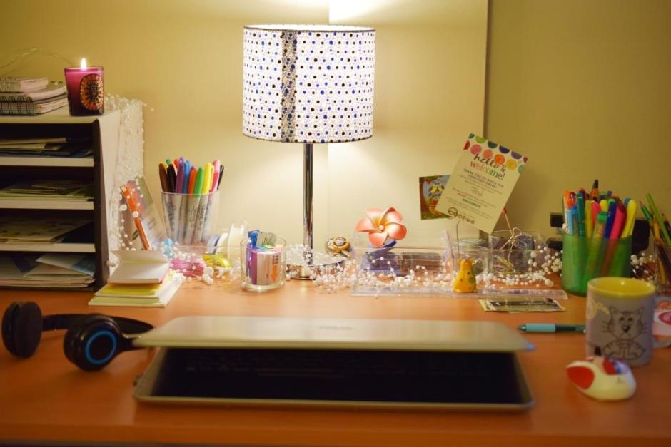 Get organized Desk organization 1