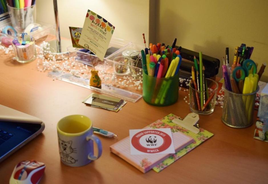 Get organized Desk organization 2