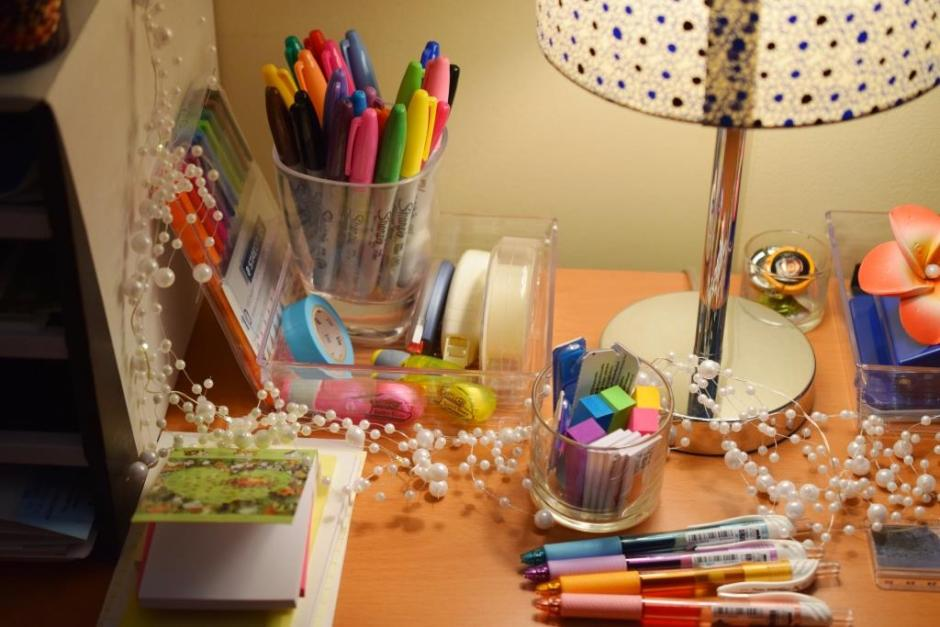 Get organized Desk organization 3
