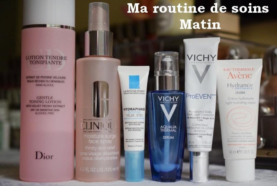 Morning skincare routine 1