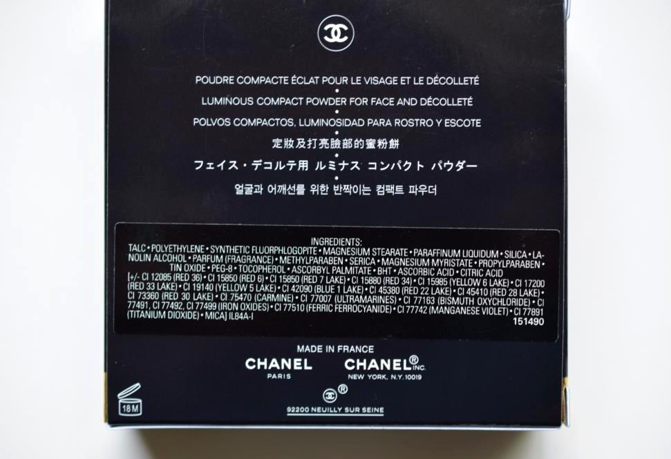 Chanel Infiniment Chanel poudre lumiere 4