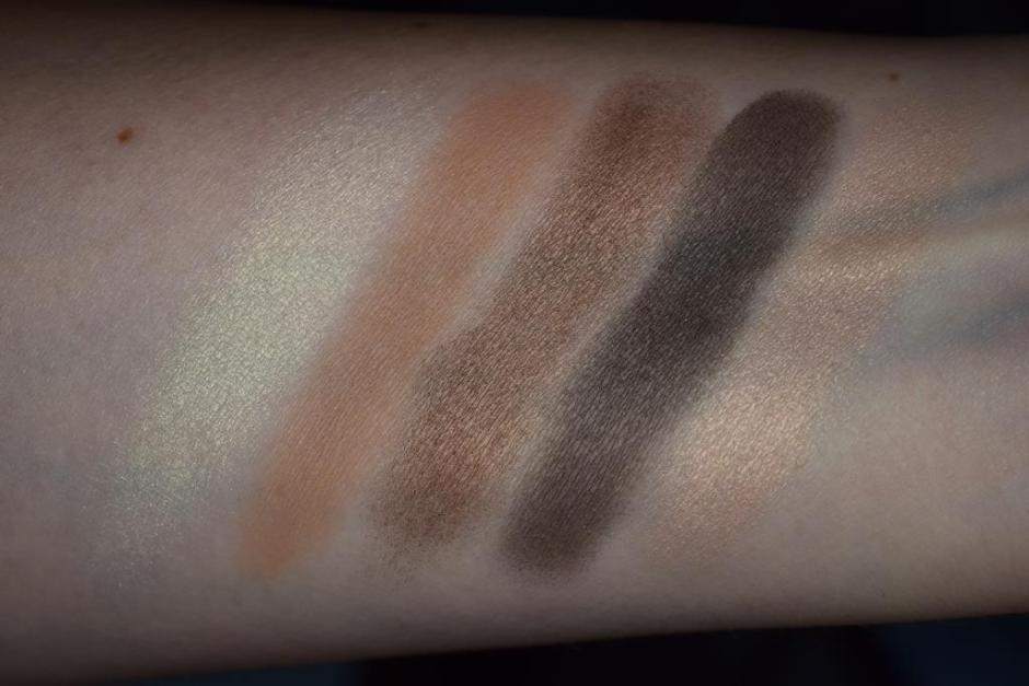 Chanel Les Automnales collection 6 palette Entrelacs swatch