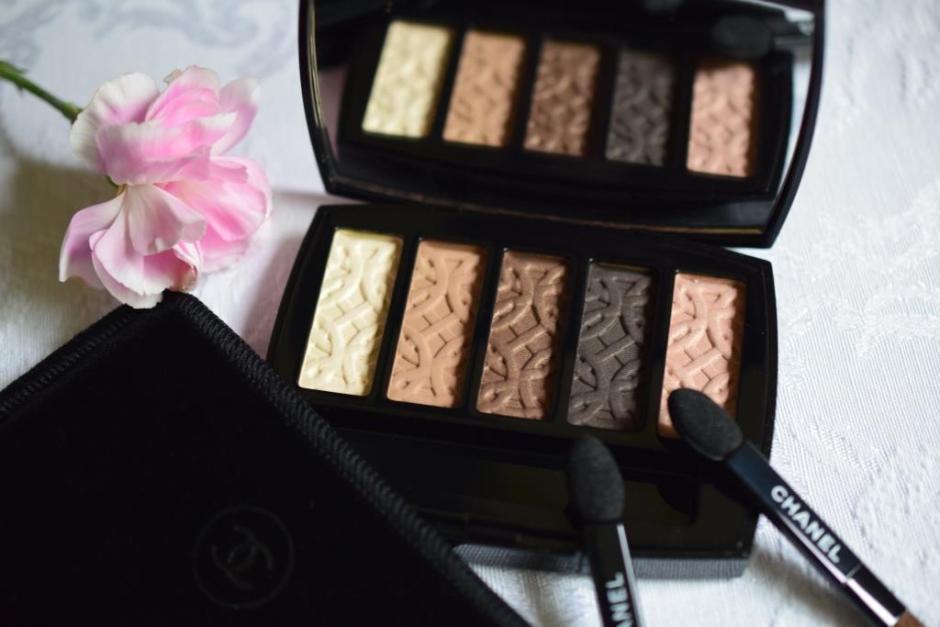 Chanel Les Automnales palette Entrelacs 1