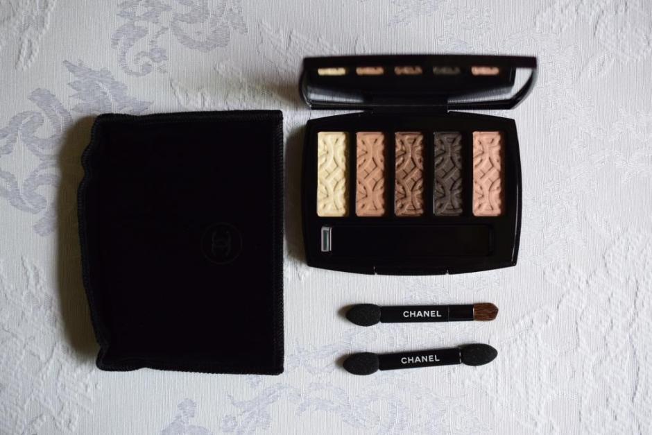 Chanel Les Automnales palette Entrelacs 5
