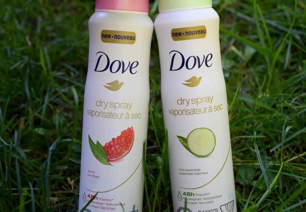 Dove deodorants vaporisateur a sec 2
