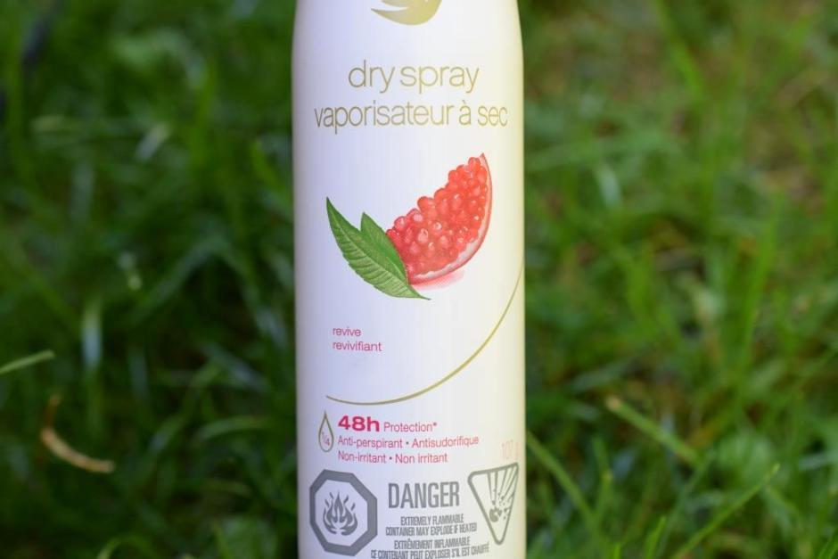 Dove deodorants vaporisateur a sec 8