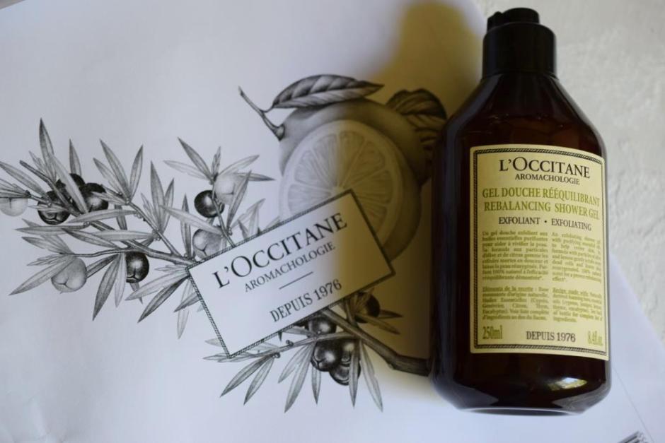 L Occitane aromachologie gel douche rééquilibrant 6