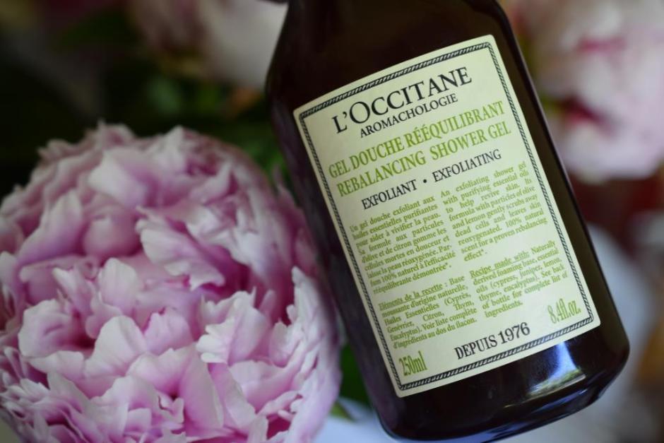 L Occitane aromachologie gel douche rééquilibrant 9