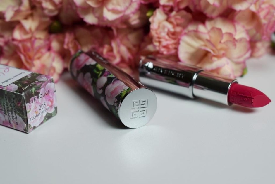 Givenchy Le Rouge Fuchsia Irrésistible 205 Couture Edition