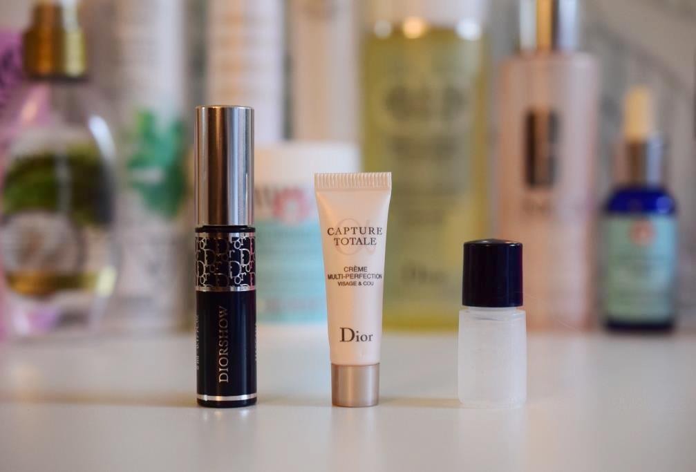 Mascara DiorShow - Soin Dior Totale Capture - Base Guerlain L'or