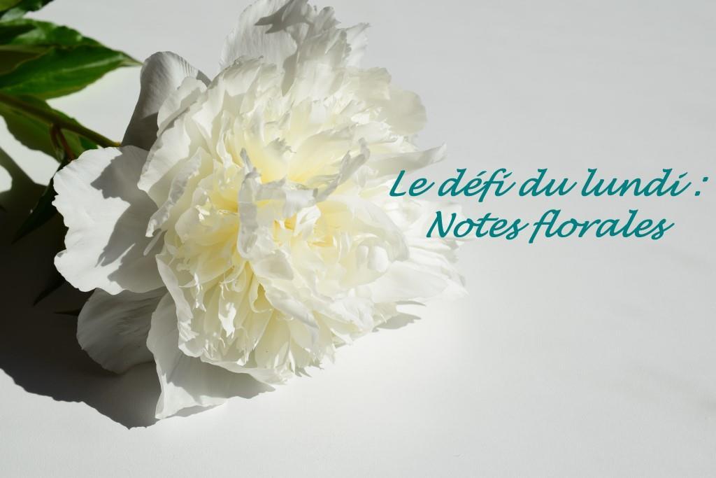 Notes florales