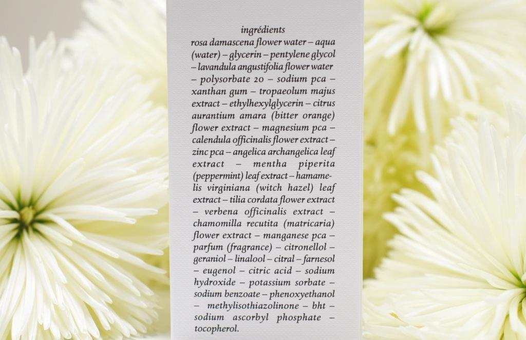 Le défi du lundi: les étiquettes des cosmétiques