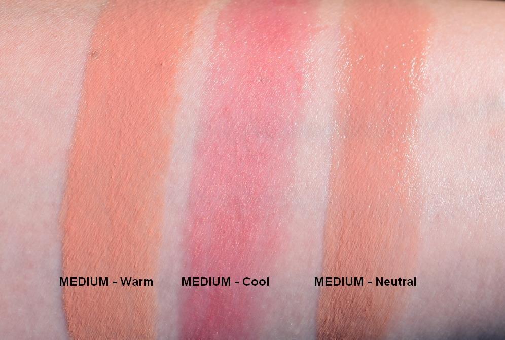 Ton Cosmetics rouges à lèvres neutres swatches