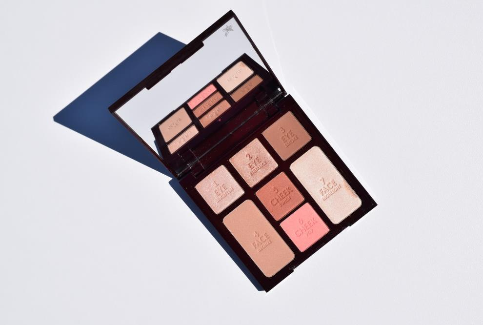 Charlotte Tilbury palette Instant Look - Beauty Glow
