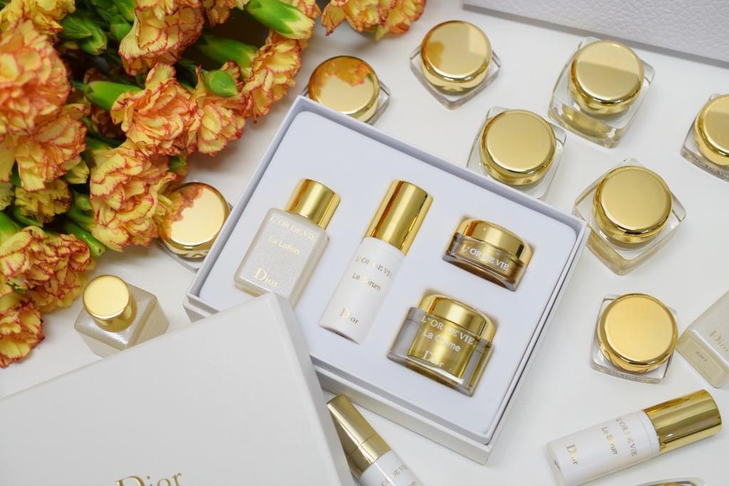 Dior L'Or de Vie skincare