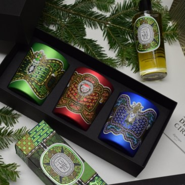 Diptyque Noël 2018 – collection Légende du Nord