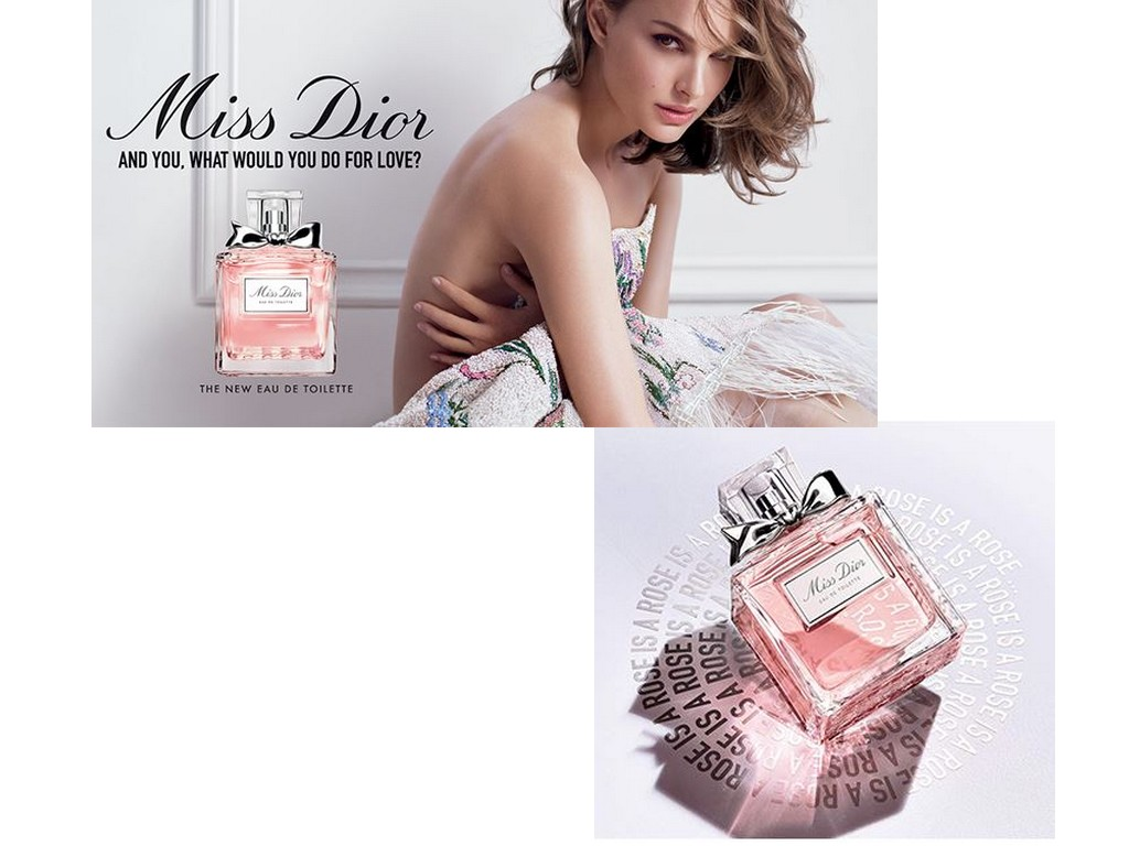 Nouvelle eau de toilette Miss Dior 2019