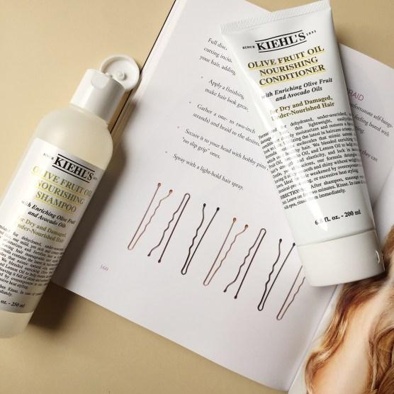 Kiehl's Olive Fruit Oil Shampoo y Acondicionador
