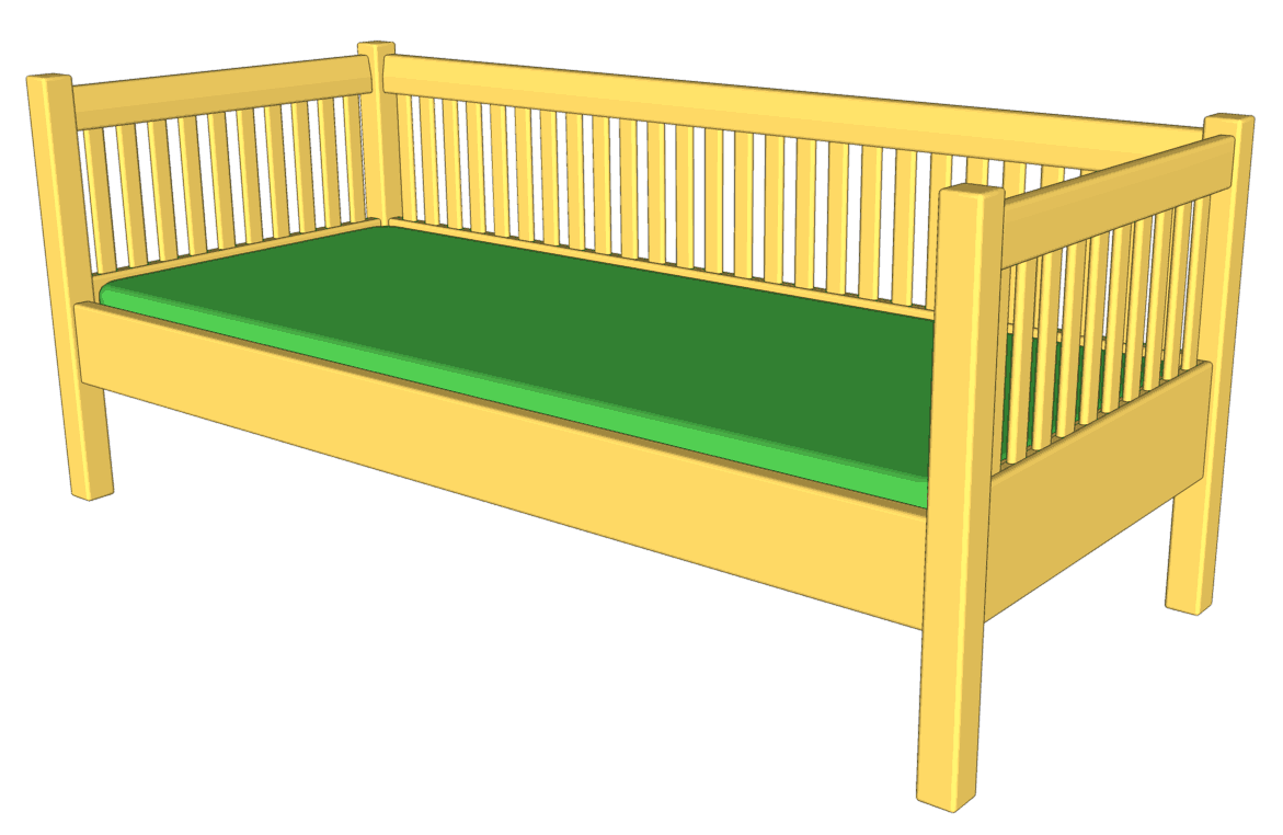 Captivating Woodgears Is One Of The Top Players, When It Comes To Free Woodworking Plans.  Therefore, If You Choose To Build This Daybed You Canu0027t Get Wrong.