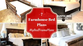 7 Farmhouse Bed Plans