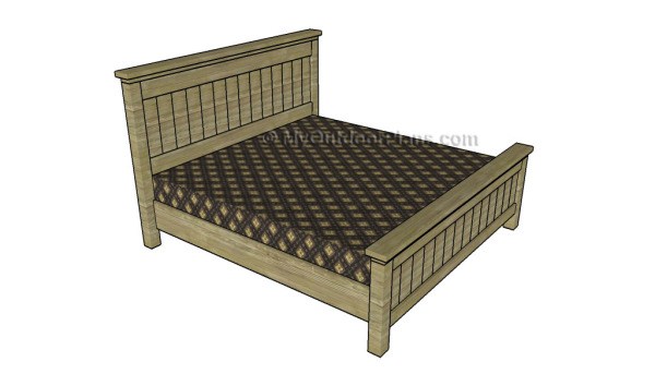 King-size-bed-plans