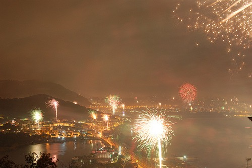 New Years in Italy  Fireworks on the The Amalfi Coast   My Bella     Although