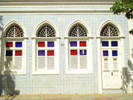 Frente de Casa Tradicional da Rua João Pessoa