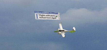 Primeiro Avião Completamente Movido a Algae BioJetFuel no Air Berlim