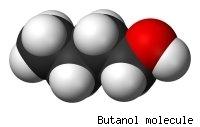 Molécula de Butanol