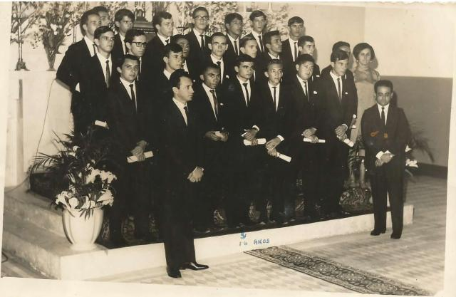 Lembrando Belo Jardim - Turma de 1967 do Ginásio Professor Donino - Formatura (Fonte: ADSilva)