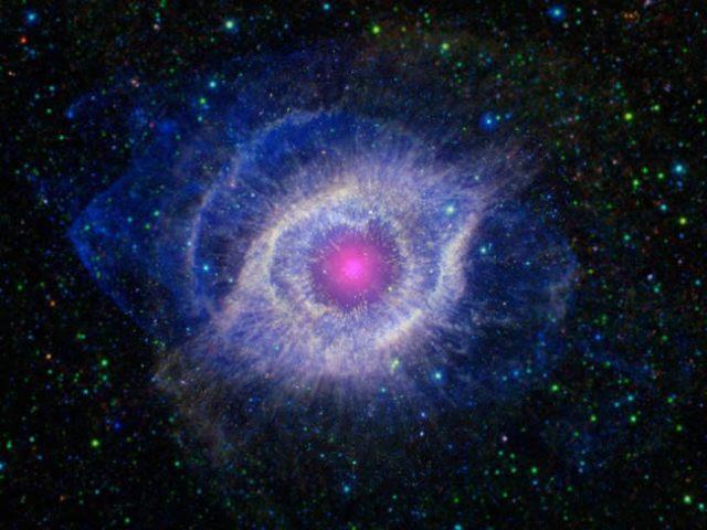 Entendendo Nebulosas - Nebulosa Helix (Foto: Nasa)