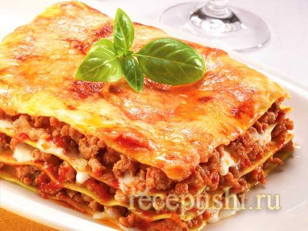 Лазанья классическая пошаговый рецепт с фото – Лазанья с ...