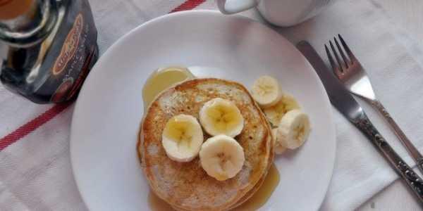 Панкейки на молоке с бананом рецепт с фото пошагово ...