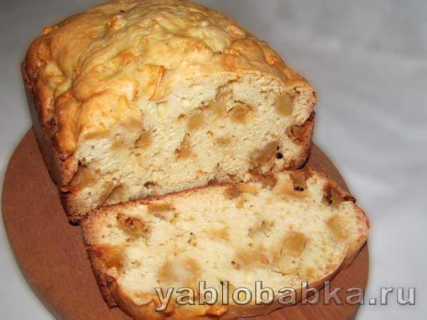 Пирог яблочный в хлебопечке – Шарлотка в хлебопечке с ...