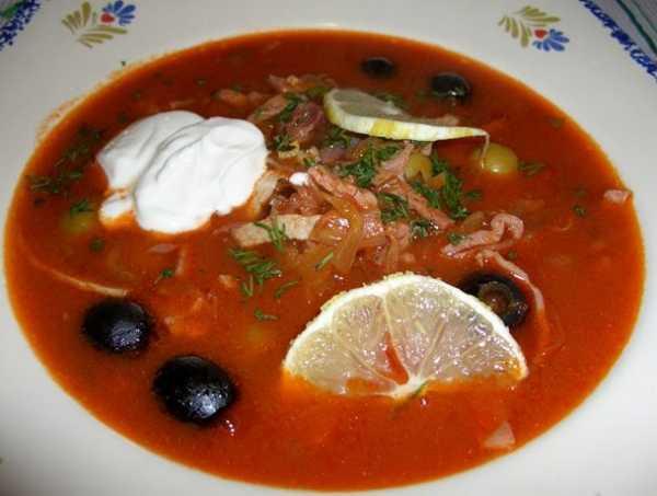 Солянка с колбасой и картошкой рецепт с фото – Суп сборная ...