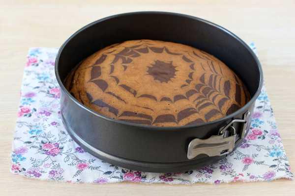 Торт зебра на кефире рецепт с фото пошагово в домашних ...