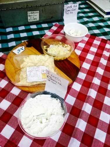 Delicious Capri Cheese made with goat and sheep milk