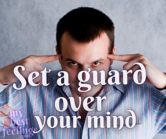 how to be in control over your mind