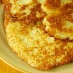 German Potato Pancakes or Reibekuchen