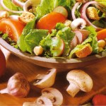 Colorful Summer Salad with Garbanzo Beans