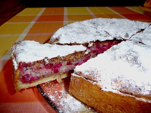 swabian red currant cake