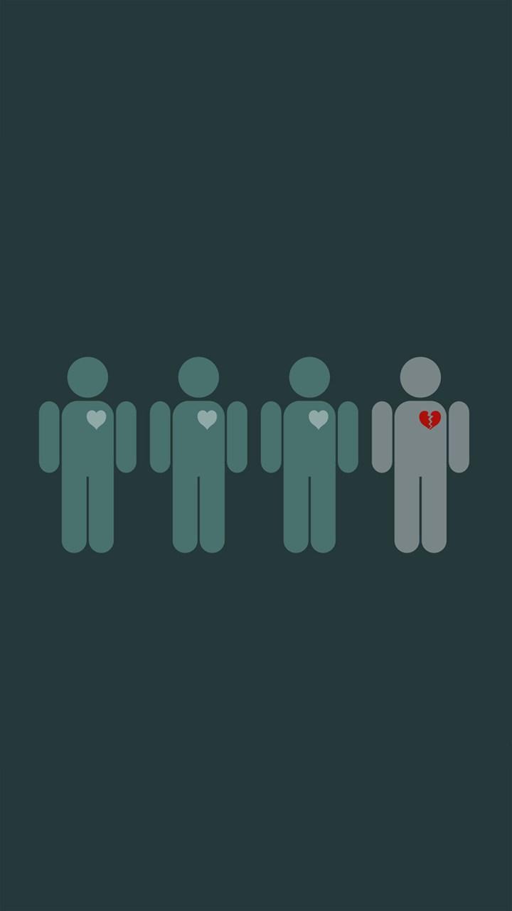 Broken Heart Wallpapers For Mobile Phones Wallpapergood Co