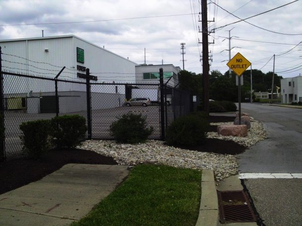 Big C Lawn and Landscaping - River Rock Beds and Mulch - Spring Cleanup, 2014 - 20